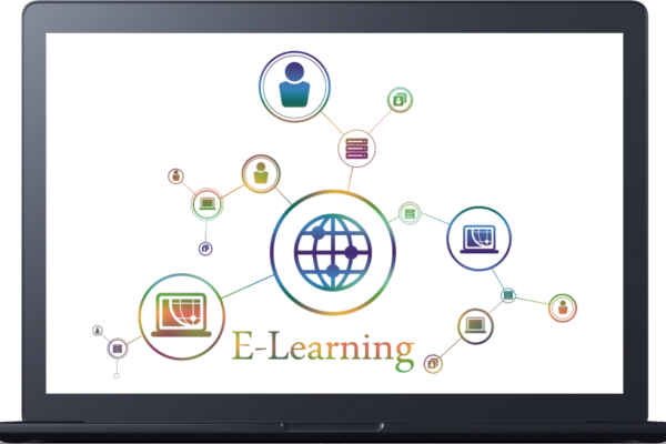 E-learning LMS for laptop